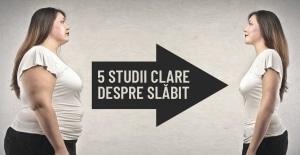 5 studii clare despre slabit