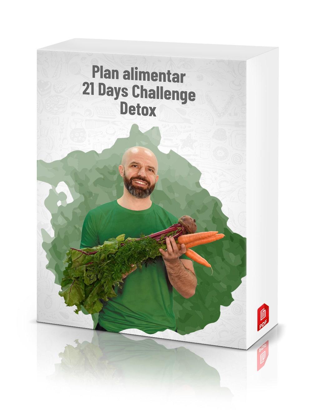 Plan alimentar 21 Days Challenge (DETOX)