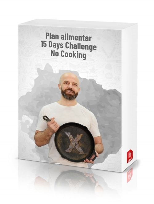 Plan alimentar 15 Days Challenge (NO COOKING)