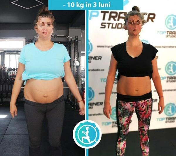 -10 kg in 3 luni