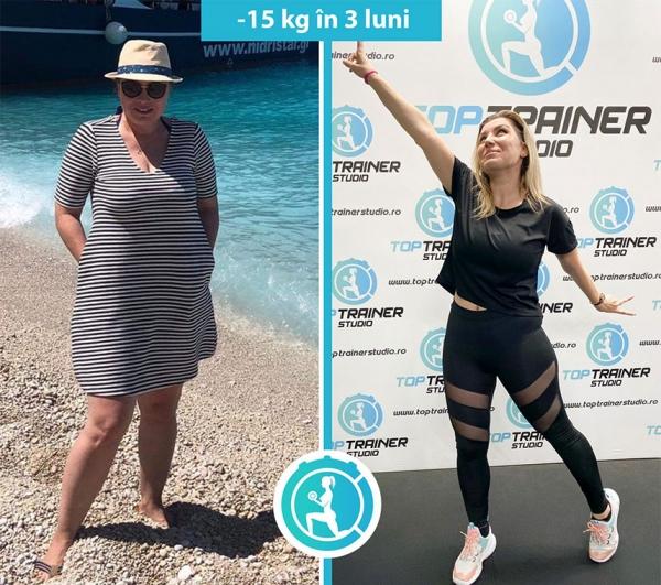 -15 kg in 3 luni