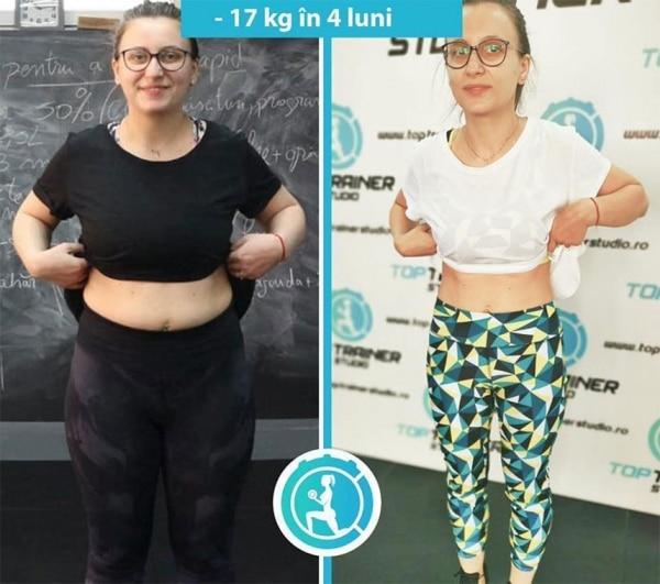 -17 kg in 4 luni
