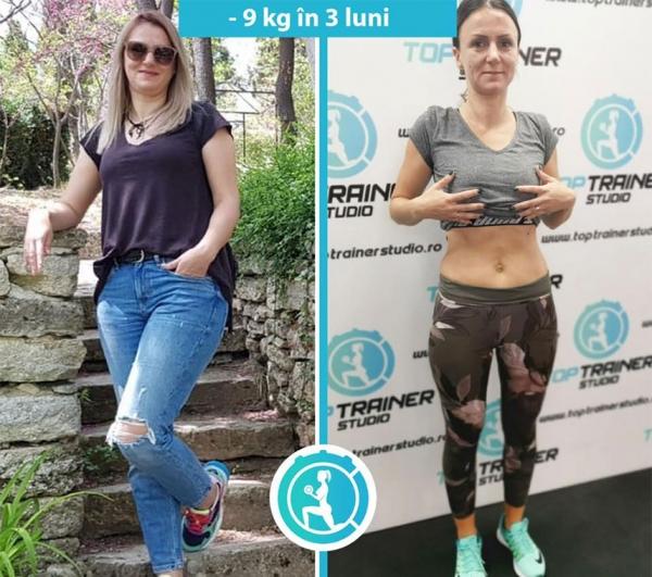 -9 kg in 3 luni
