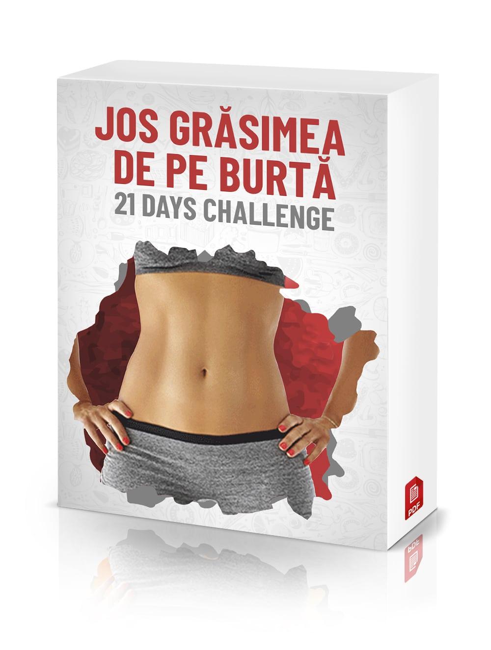 JOS GRASIMEA DE PE BURTA – 21 Days Challenge
