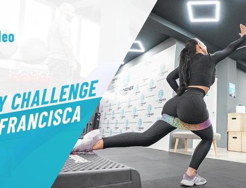 Booty Challenge cu Francisca by Cristi Cristea